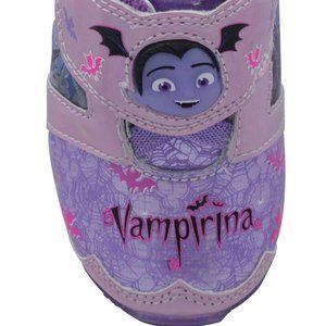 NEW DISNEY VAMPIRINA PURPLE LIGHT UP SHOES TODDLER
